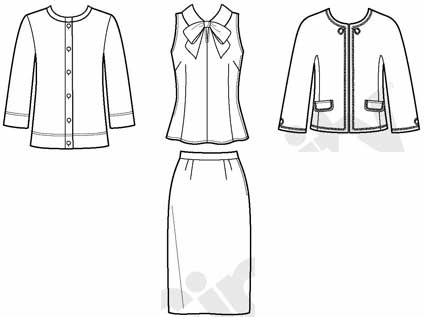 A Good Wardrobe Pattern For A Core Wardrobe Sewingplums