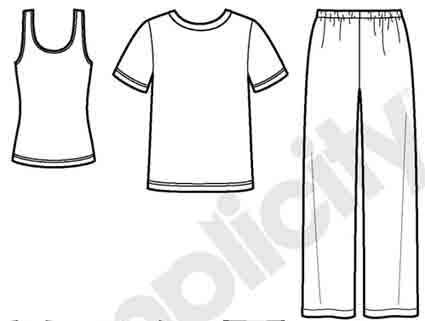 pajama template marcpous